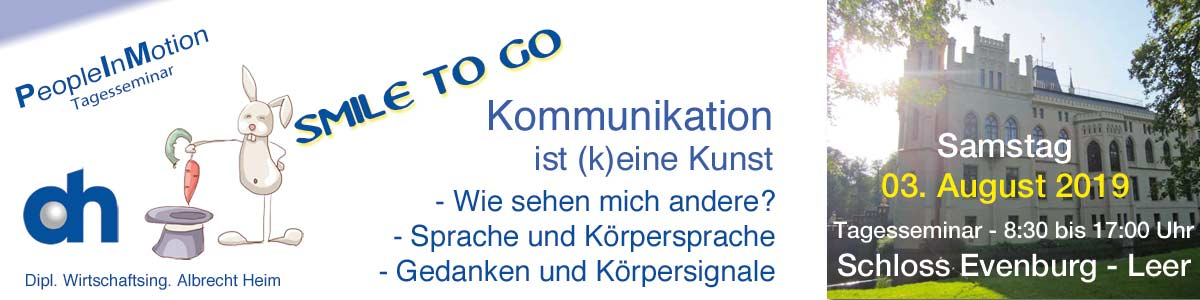 Management Solutions - Smile to Go, Projektseminare, Kommunikationstraining