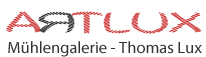 Artlux Galerie Logo, Mühlengalerie, Thomas Lux, Germany